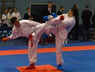 Ruben Martinez Garcia campeón Autonómico de Karate