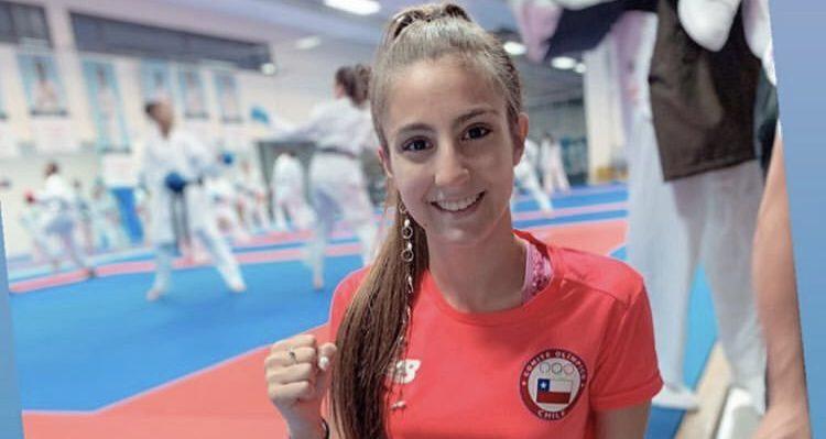"La karateca chilena Valentina Toro se quedó con la medalla de plata del ""K1 Series A"" de Austria"