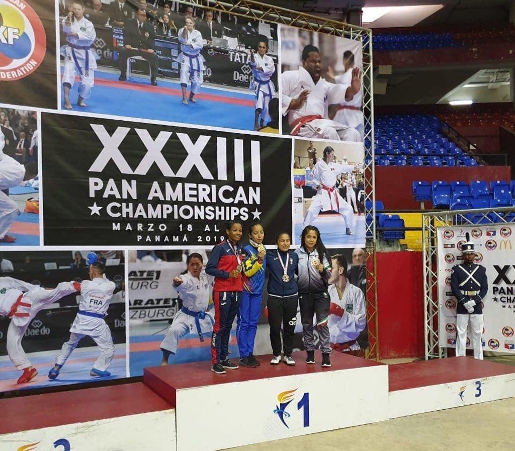 Cheili González gana un bronce en Campeonato Panamericano de Panamá