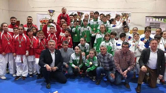 Éxito del Trofeo Diputación de Karate disputado en Losar de la Vera
