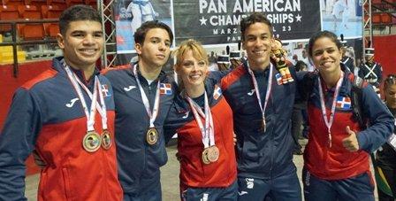RD logra dos oro en Panam de Karate