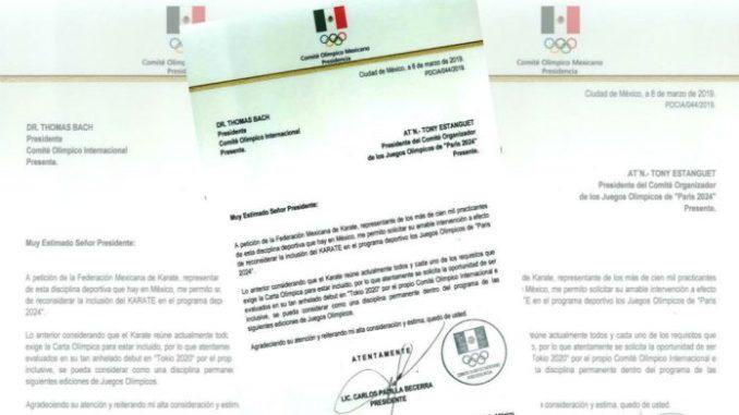 Comité Olímpico Mexicano se suma a solicitud para incluir karate en Juegos Olímpicos París 2024