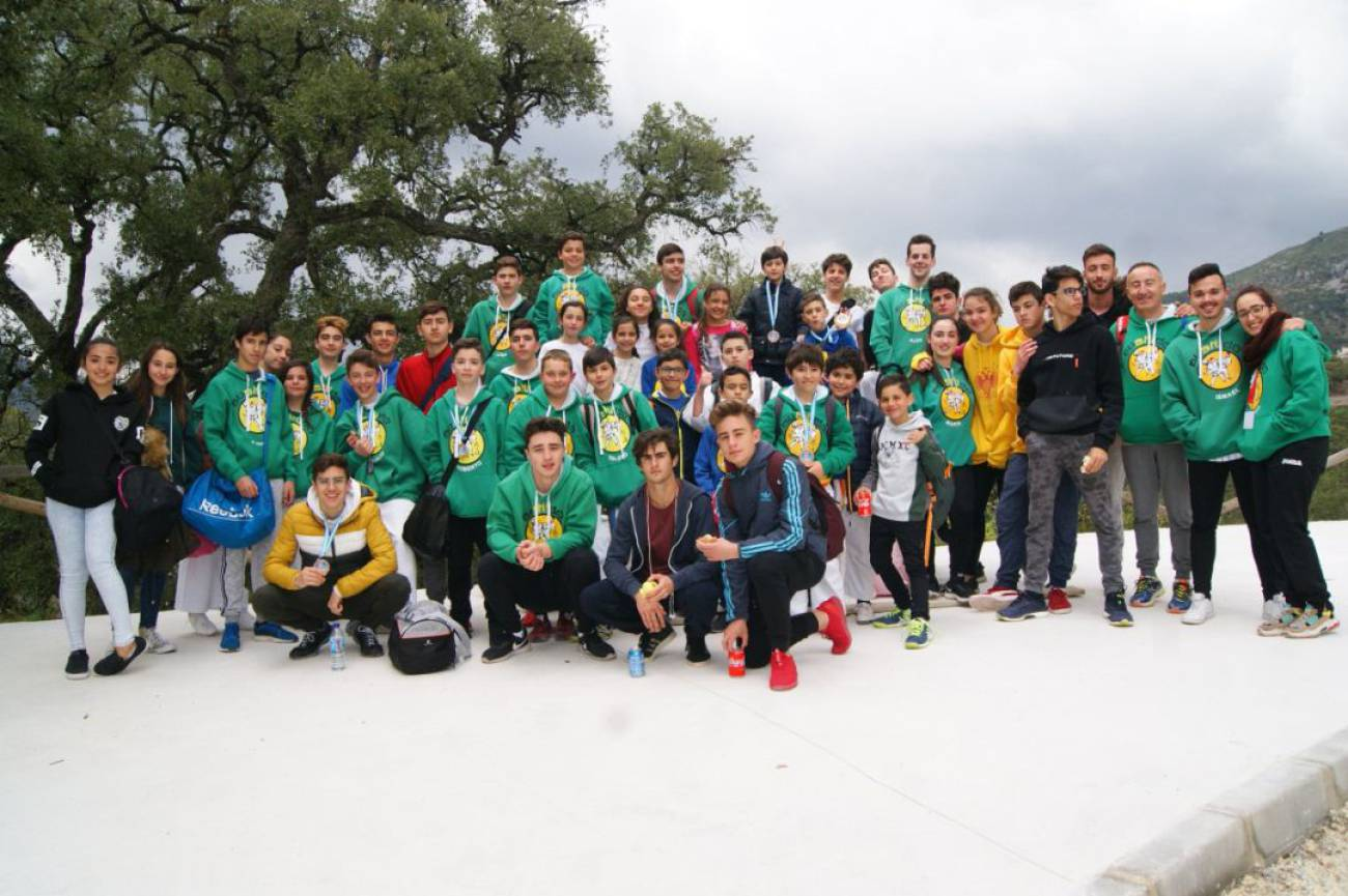 El Bushido consigue 19 podios en Istán 0 (0)