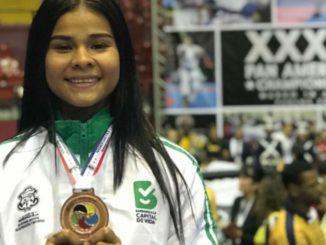 Shanee Torres conquistó bronce para Colombia en Panamericano de Karate