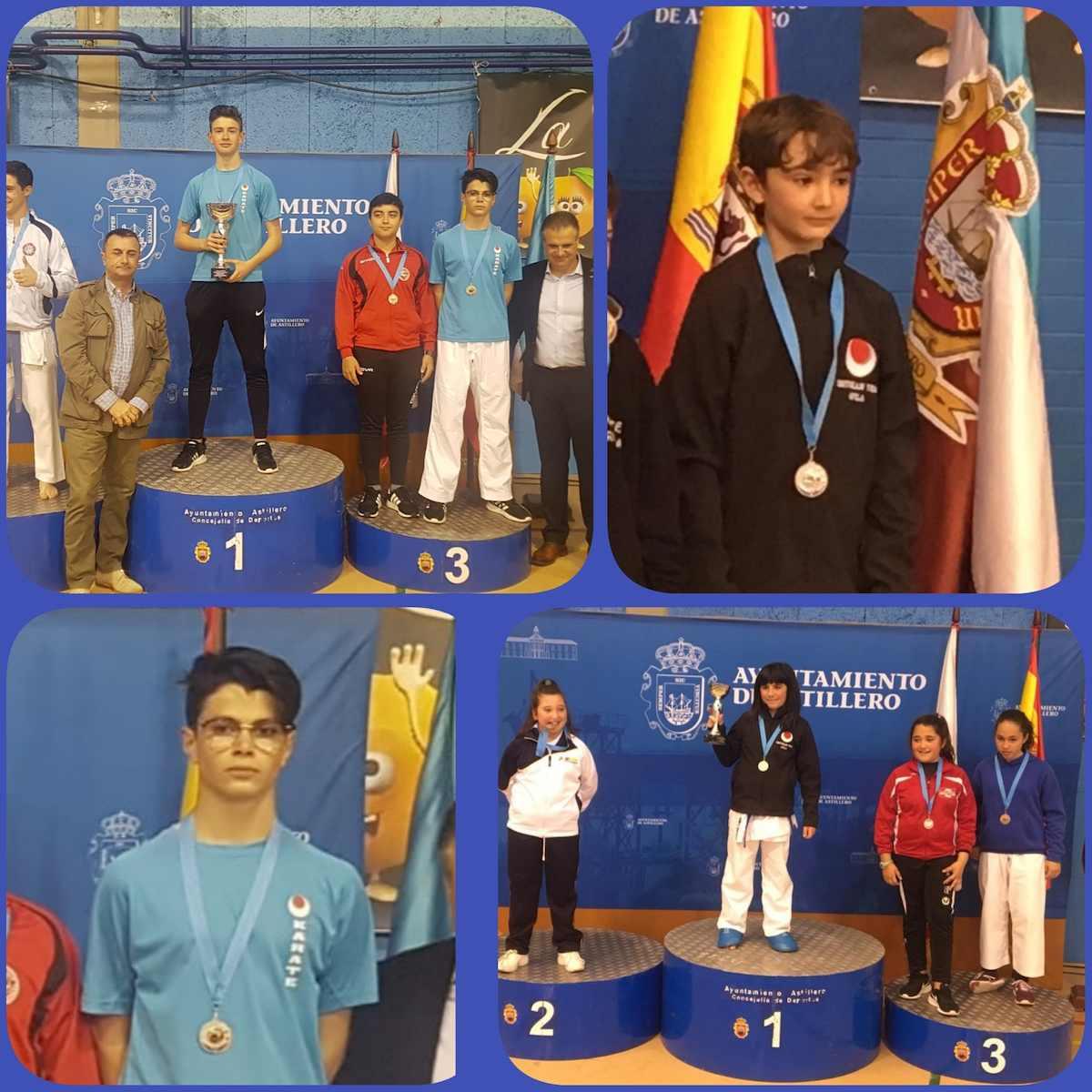 Cuatro medallas para el Shotokan Tora en Astillero 0 (0)