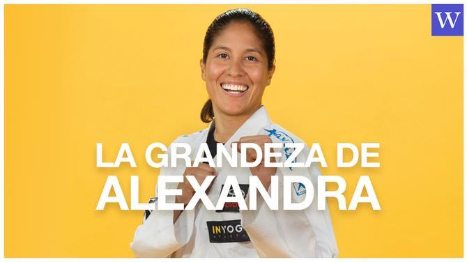La grandeza de Alexandra