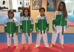 Cuatro alumnos del Club Dakentai estarán en el Campeonato de España con la Andaluza