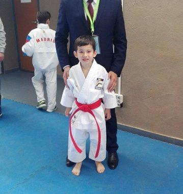 Julián San José, campeón de España de Karate