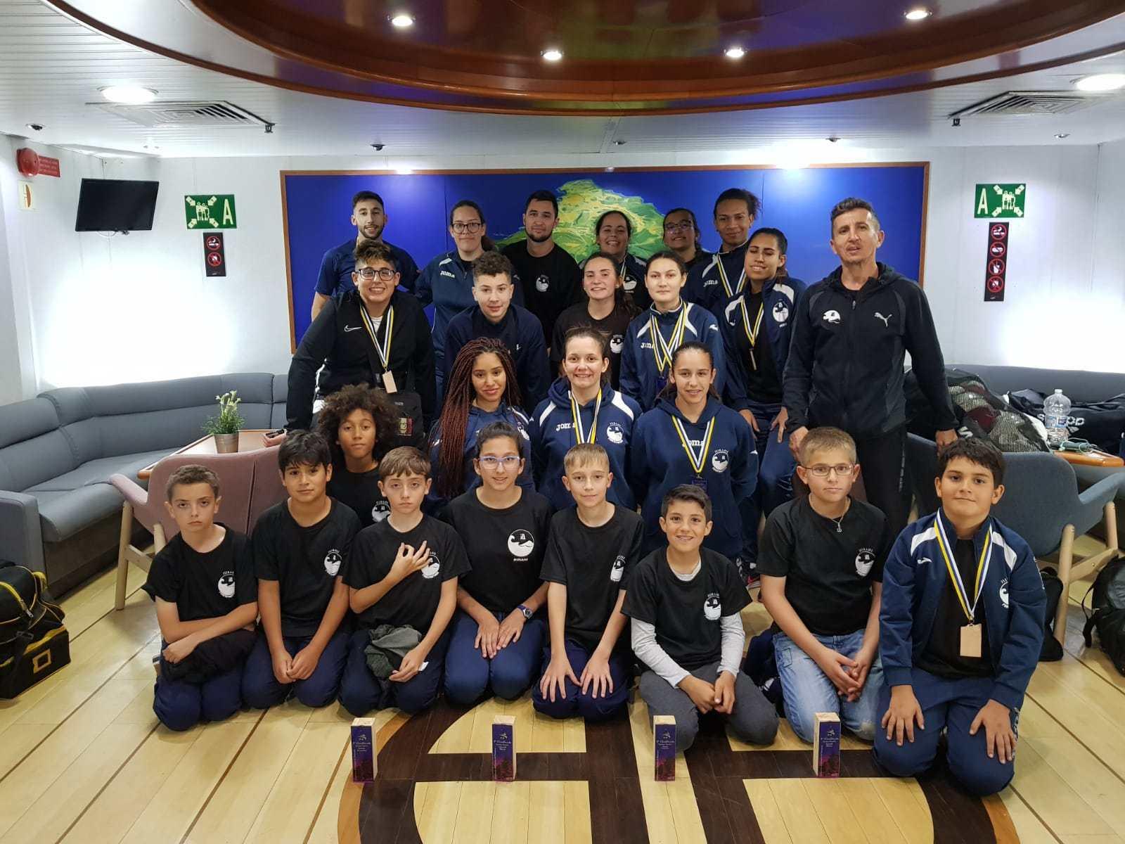 Campeonato de Canarias de Karate por clubes 2019