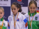 La karateka utrerana Lola Matos, de Kihaku Utrera, medalla de bronce en el Campeonato de España