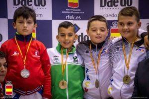 Naim Zarouali Torres, Campeón de España Alevín de Karate