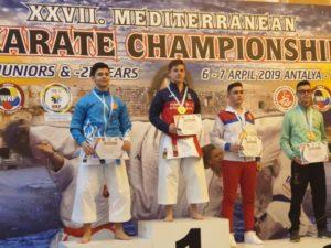 Salvador Balbuena, oro en el Campeonato de Países del Mediterráneo