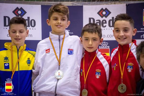 Gran éxito del Seiken Do en el Campeonato de España de Karate