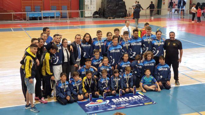 Espectacular jornada para el karate lanzaroteño en el Campeonato de Canarias