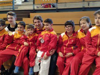 Éxito del Shotokan Tora en el campeonato de España infantil de kárate