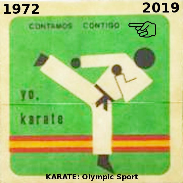 El olimpismo es el mejor legado para el karate mundial