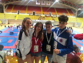 Lucía Herrero Valcarce sigue haciendo historia en el karate valdeorrés