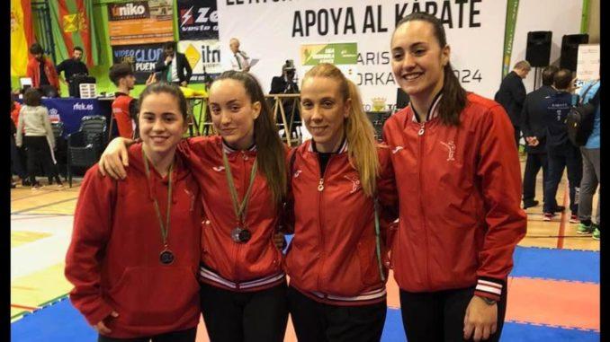 Club Karate Nokachi Les Franqueses de Valles en la Liga Nacional de Torelavega