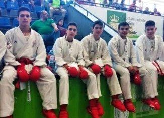 El Budokan, cuartofinalista en el Nacional de karate