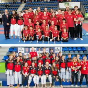 El club Goju Ryu, brillante Campeón de España de karate por sexto año consecutivo