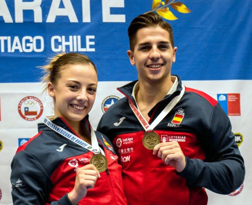 Los madrileños Sergio Galán y Lidia Rodríguez representarán a España en el Campeonato Iberoamericano de Karate