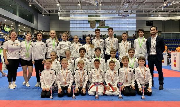 Olympic Karate consigue dos oros, dos platas y un bronce en el Campeonato de España de Clubes 0 (0)