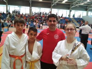 El CD Shotokan Benavente se estrena en el regional de kárate con una medalla de plata