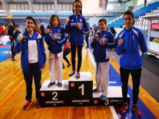 Gran cierre de temporada del San Francisco Teo con cinco medallas en el Trofeo Ciudad de Lugo