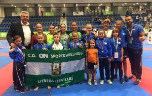 El kárate utrerano, campeón de España en el campeonato de clubes
