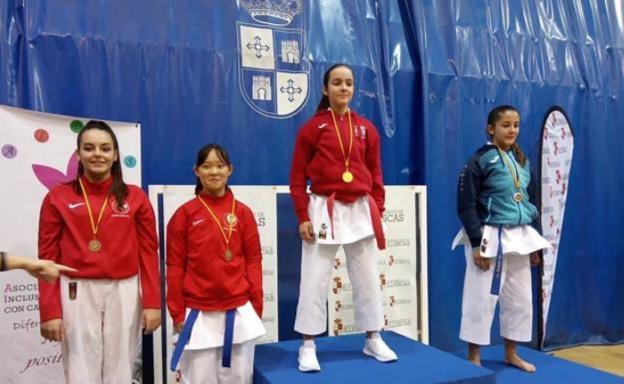 La cadete herrereña Elena Sanz gana el campeonato Aidis de karate de Illescas 0 (0)
