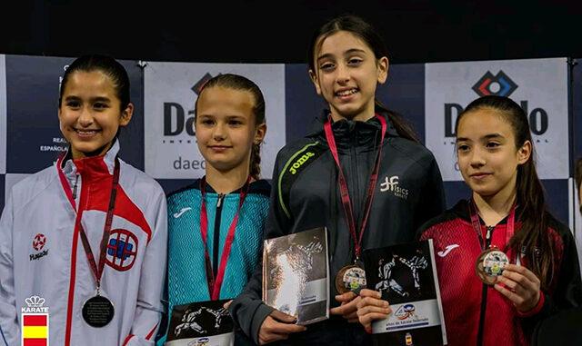 Grandes resultados para los de Físics en la Liga Nacional de karate