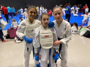 Los Fuditos a la 1 jornada de la Liga Nacional Española Infantil de Karate
