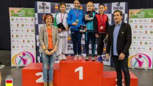 La EDM Club Kárate Kanku regresa con cuatro medallas