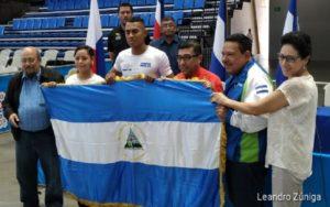 Nicaragua abandera a sus representantes de cara al Campeonato Centroamericano de Karate