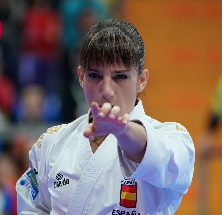 Sandra Sánchez a triunfar en Salzburgo