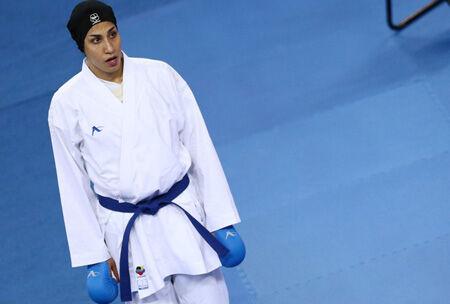 Karateka iraní, medalla de oro en la Liga de Kárate 1 de Austria 2020