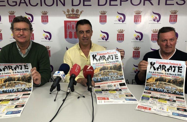 Arcos acogerá el II Campeonato Provincial de Karate 0 (0)