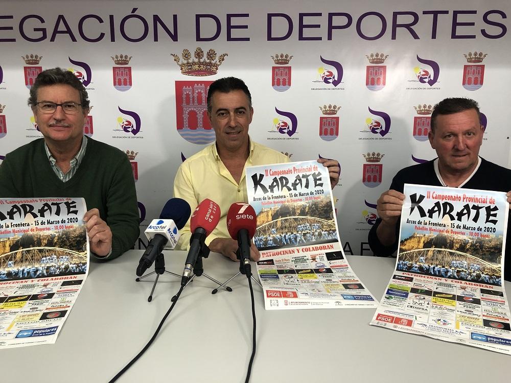 Arcos acogerá el II Campeonato Provincial de Karate