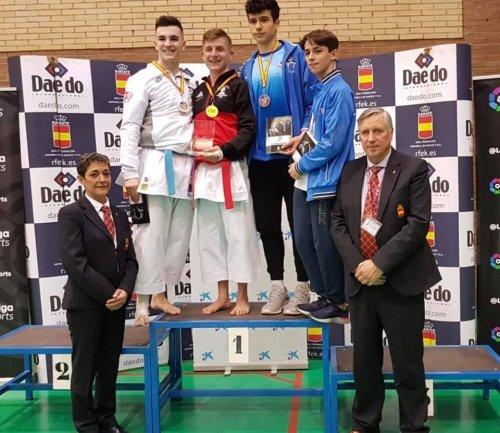 Medallas para Balbuena y para García en la Liga Nacional Junior Sub 21 de Karate