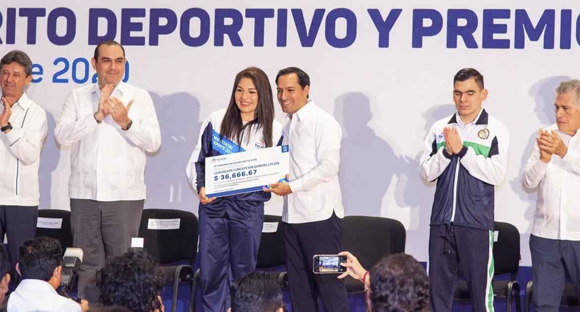 Premio Estatal del Deporte para Lupita Quintal