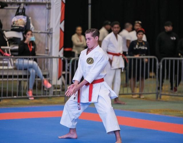 Atleta Jorge León va con todo al Campeonato Nacional de Karate 0 (0)