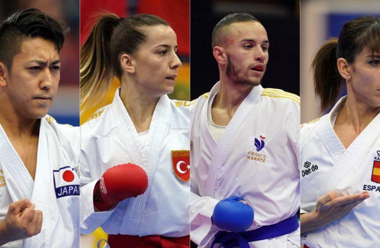 WKF anuncia los primeros atletas calificados para Tokio 2020