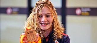 La karateka Cristina Ferrer, convocada con España para el Europeo