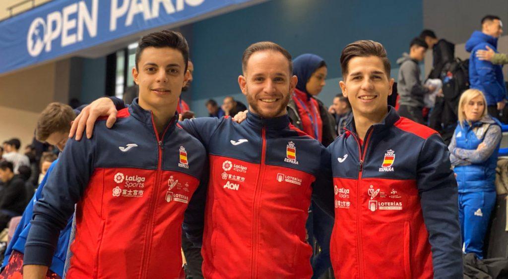 Nuevo bronce para el equipo español de kata que lidera el valenciano Pepe Carbonell