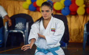 Andrea Armada, múltiple campeona en karate 0 (0)
