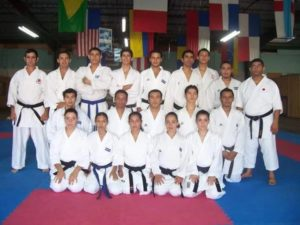 Nelson Farías, artífice de la época dorada del karate salvadoreño