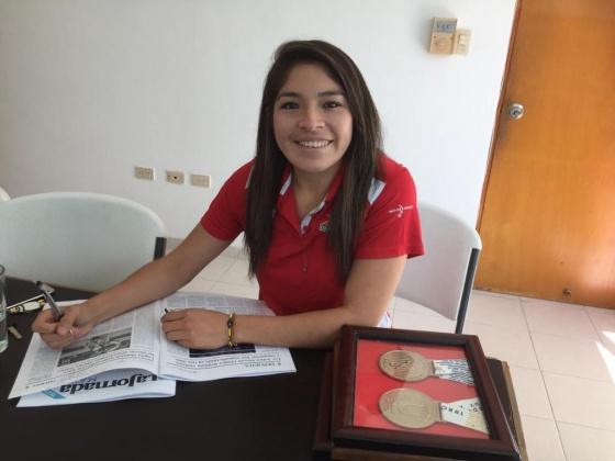 Karateca Guadalupe Quintal espera nueva fecha de Preolímpico