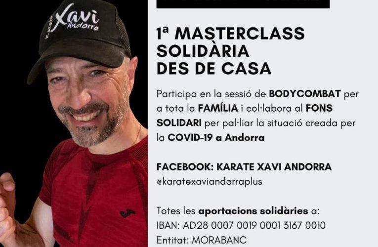 La Master Class Body Combat Solidaria que organiza la Federación Andorrana de Karate llega a las 742 conexiones 0 (0)
