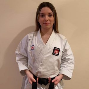 La vallera María Sanfrancisco, convocada por la selección española de karate