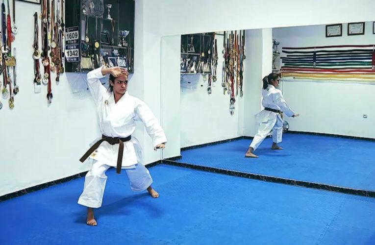 Paola García, el futuro del karate